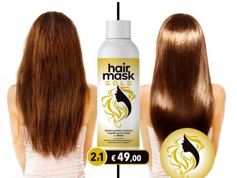 Hair Mask Gold funziona? Prezzo Opinioni Recensioni