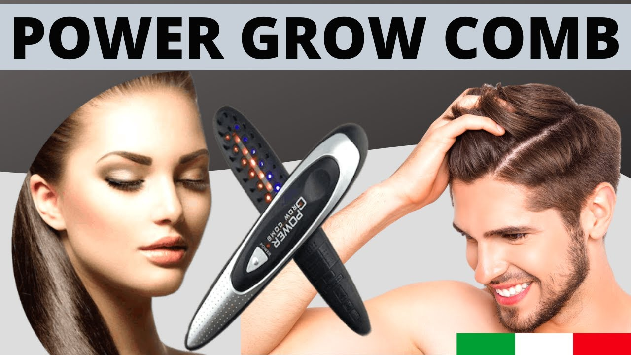 Power Grow Comb: l'innovativa spazzola laser anticaduta. Funziona?