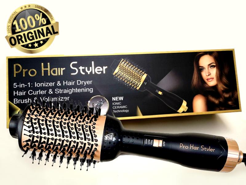 Pro Hair Styler: la spazzola 5 in 1. Funziona? Opinioni e Recensioni
