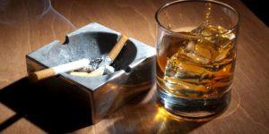 alcol e fumo di sigaretta