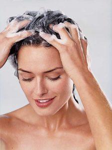 shampoo massaggio capelli